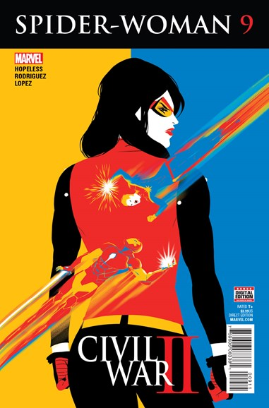 Spider-Woman Cover - 9/1/2016