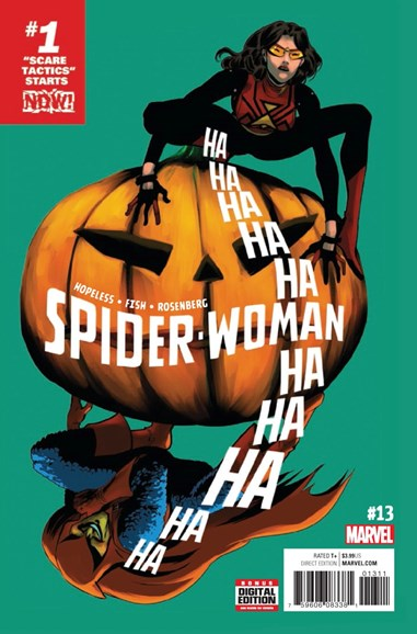 Spider-Woman Cover - 1/1/2017