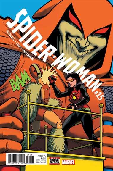 Spider-Woman Cover - 3/1/2017