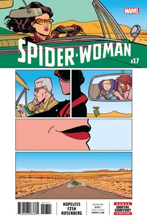 Spider-Woman | 5/1/2017 Cover