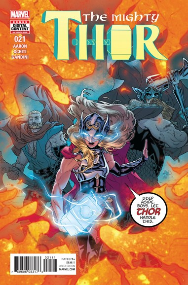 Thor Cover - 9/1/2017