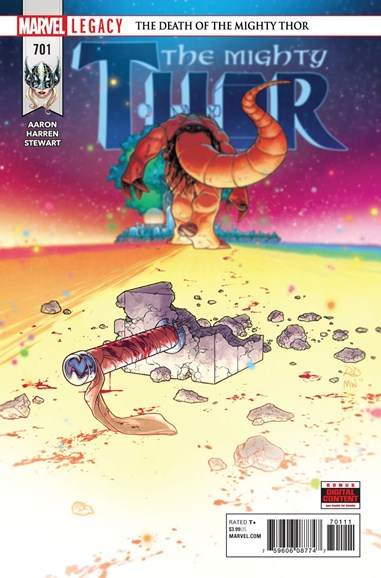 Thor Cover - 1/1/2018