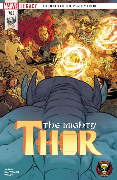 Thor Cover - 3/1/2018