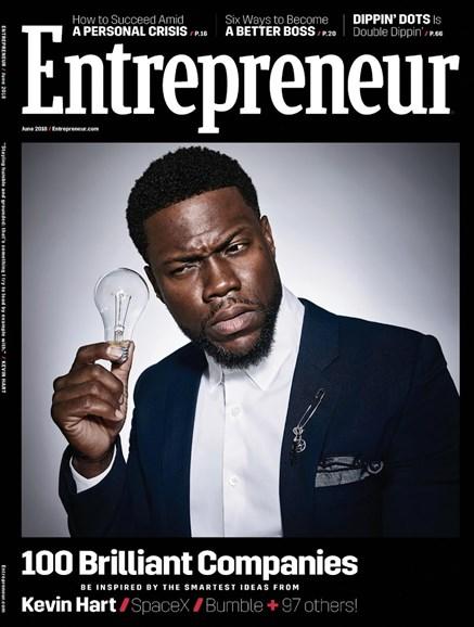 Entrepreneur Cover - 6/1/2018