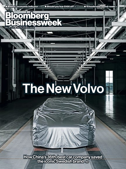 Bloomberg Businessweek Cover - 5/28/2018