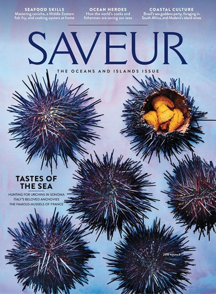 Saveur Cover - 6/1/2018