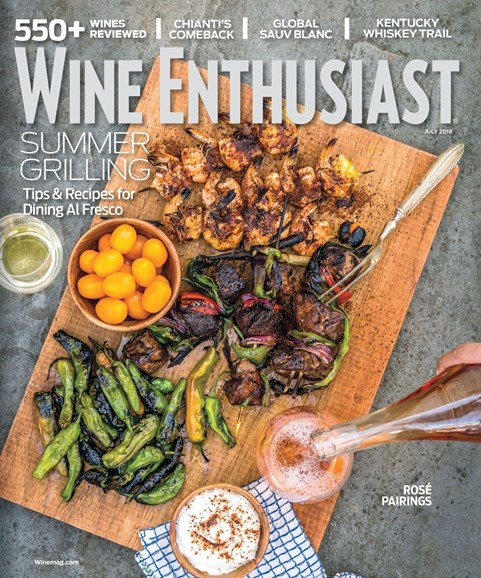 Wine Enthusiast Cover - 7/1/2018