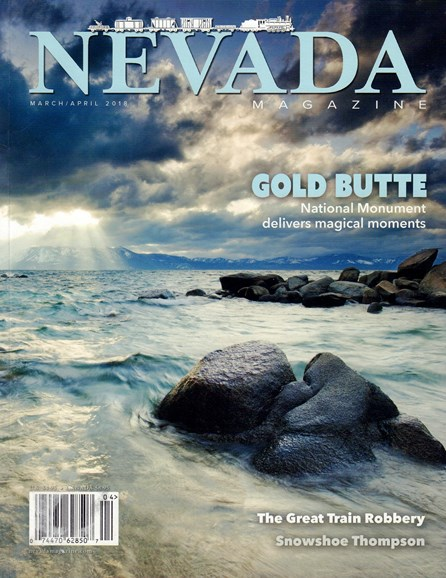 Nevada Magazine Cover - 3/1/2018