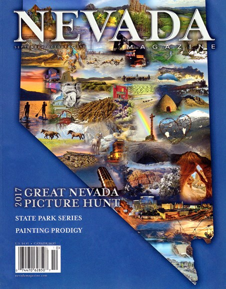 Nevada Magazine Cover - 9/1/2017