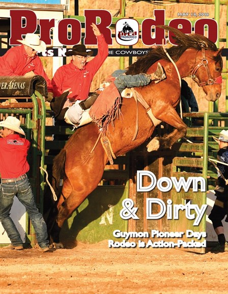 Pro Rodeo Sports News Cover - 5/18/2018