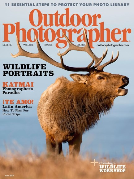 Outdoor Photographer Cover - 6/1/2018