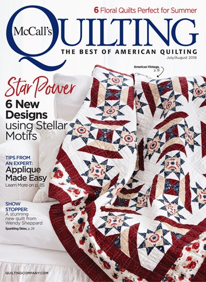McCall's Quilting Cover - 7/1/2018
