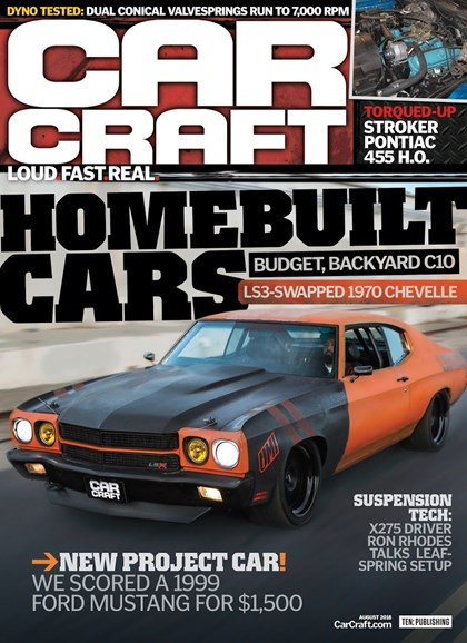 Car Craft Cover - 8/1/2018