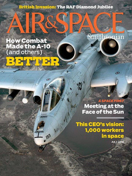 Air & Space Cover - 7/1/2018