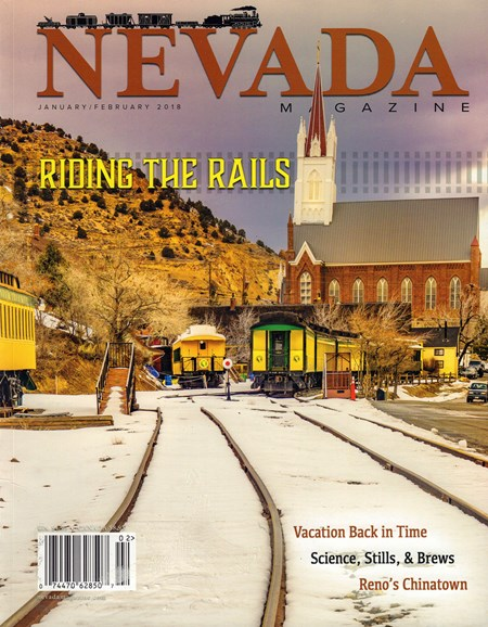 Nevada Magazine Cover - 1/1/2018