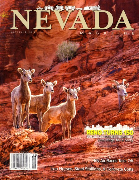 Nevada Magazine Cover - 5/1/2018