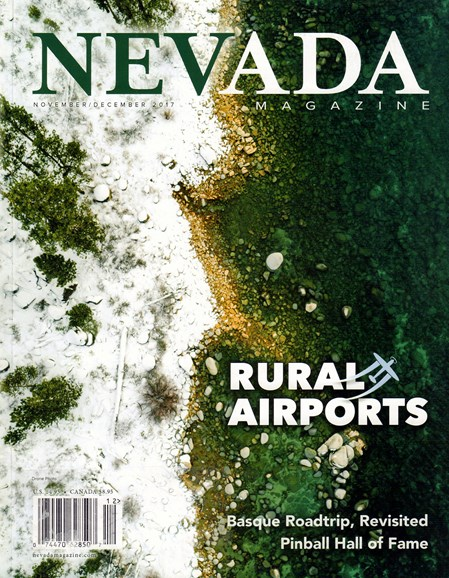 Nevada Magazine Cover - 11/1/2017