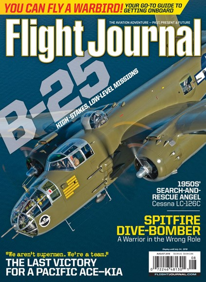 Flight Journal Cover - 8/1/2018