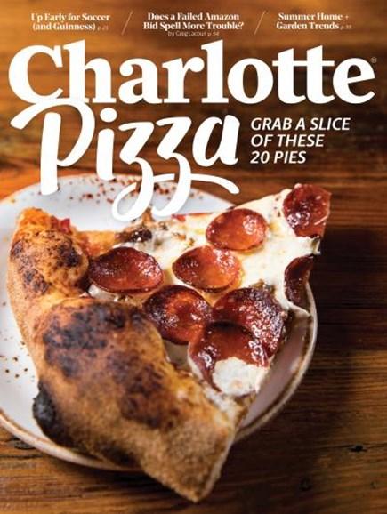 Charlotte Magazine Cover - 6/1/2018