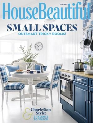 House Beautiful Magazine 6 2018 Cover