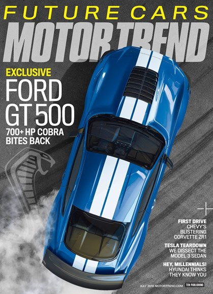 Motor Trend Cover - 7/1/2018