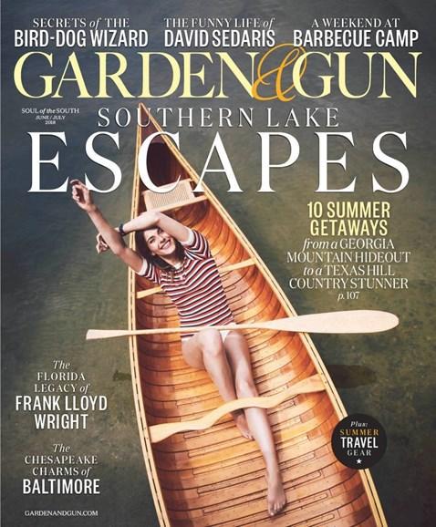 Garden & Gun Cover - 6/1/2018