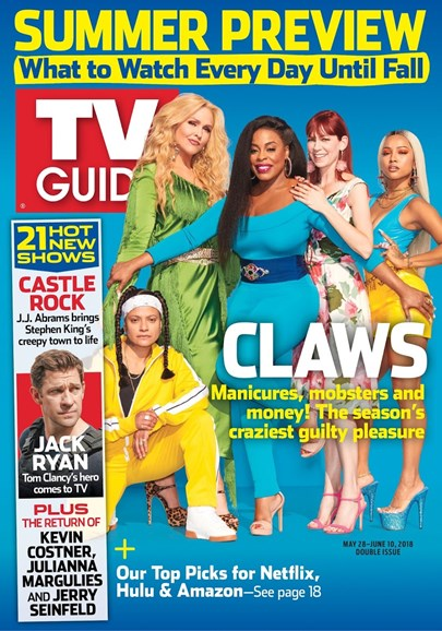 TV Guide Cover - 5/28/2018