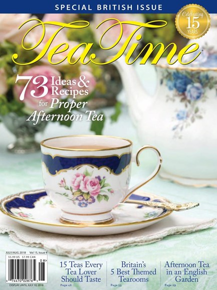 Tea Time Cover - 7/1/2018