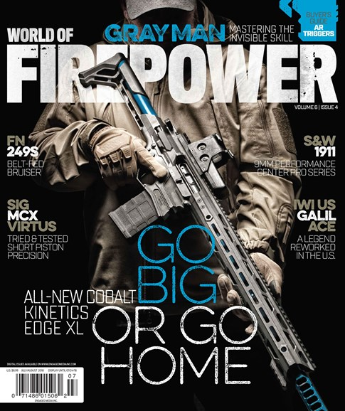 World of Firepower Cover - 7/1/2018