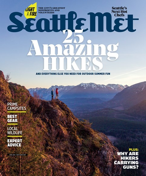 Seattle Met Cover - 6/1/2018