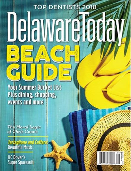 Delaware Today Cover - 6/1/2018