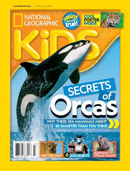 National Geographic Kids Cover - 6/1/2018