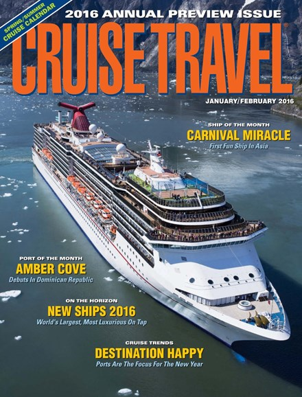 Cruise Travel Cover - 1/1/2016