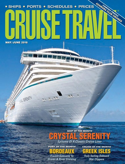 Cruise Travel Cover - 5/1/2016