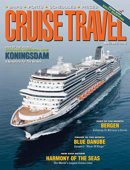 Cruise Travel Cover - 11/1/2016