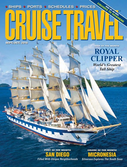 Cruise Travel Cover - 9/1/2016