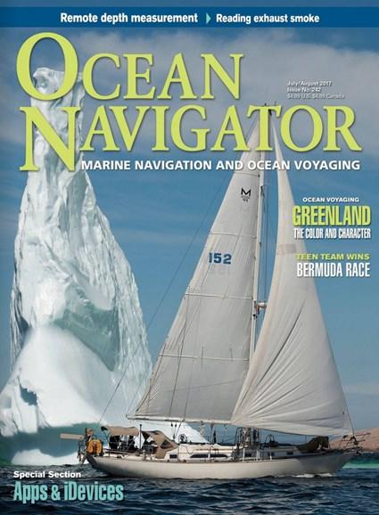 Ocean Navigator Cover - 7/1/2017