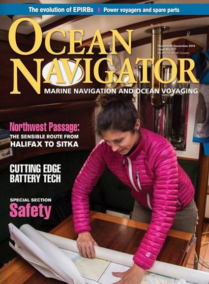 Ocean Navigator Cover - 11/1/2016
