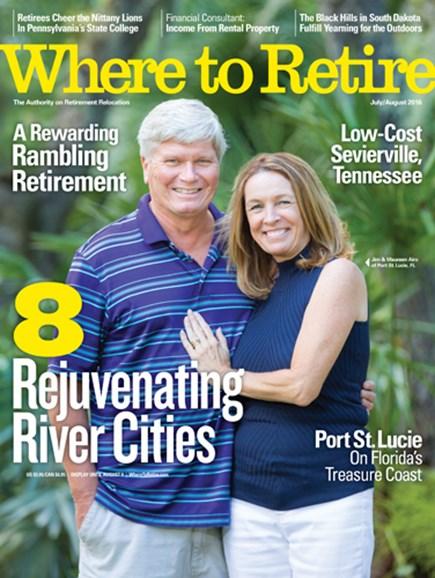 Where To Retire Cover - 7/1/2016
