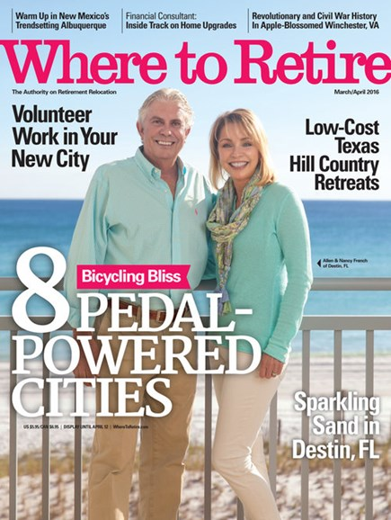 Where To Retire Cover - 3/1/2016