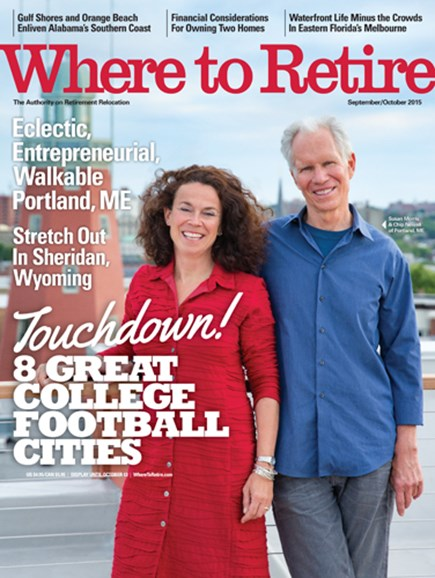 Where To Retire Cover - 9/1/2015