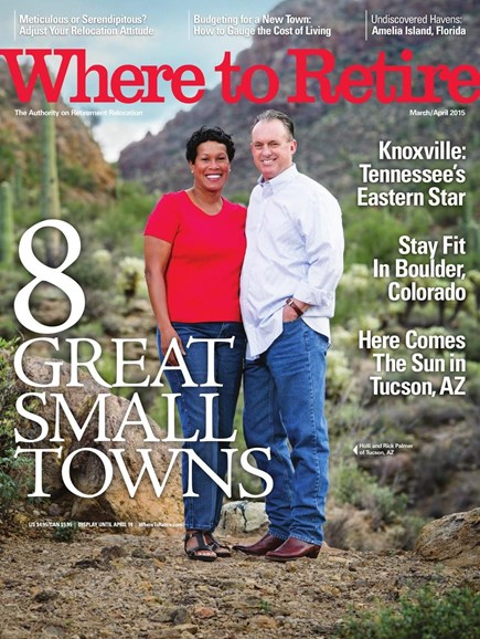 Where To Retire Cover - 3/1/2015