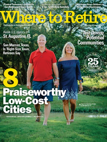 Where To Retire Cover - 11/1/2017