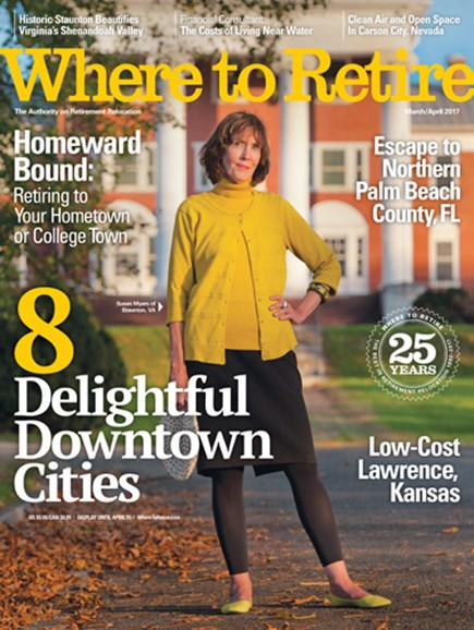 Where To Retire Cover - 3/1/2017