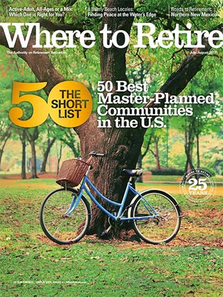Where To Retire Cover - 7/1/2017