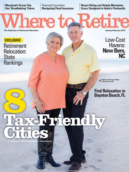 Where To Retire Cover - 1/1/2018
