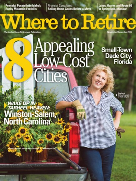 Where To Retire Cover - 11/1/2015