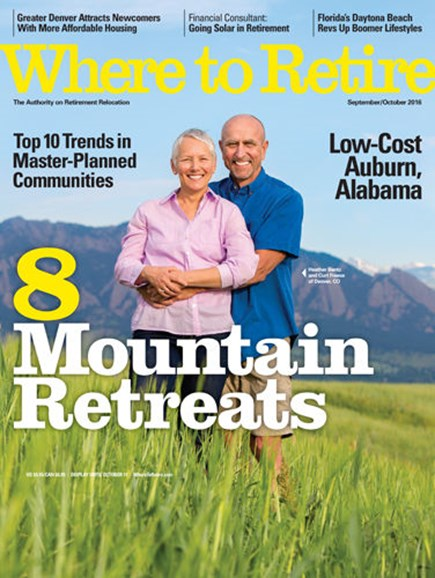 Where To Retire Cover - 9/1/2016