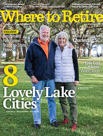 Where To Retire Cover - 3/1/2018