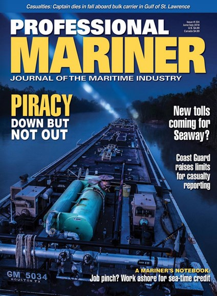 Professional Mariner Cover - 6/1/2018